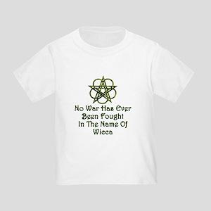 Wicca, No War Toddler T-Shirt