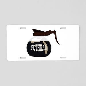 Pothead Aluminum License Plate