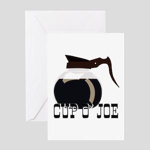 Cup O Joe Greeting Cards