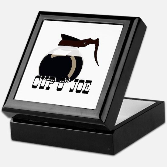 Cup O Joe Keepsake Box