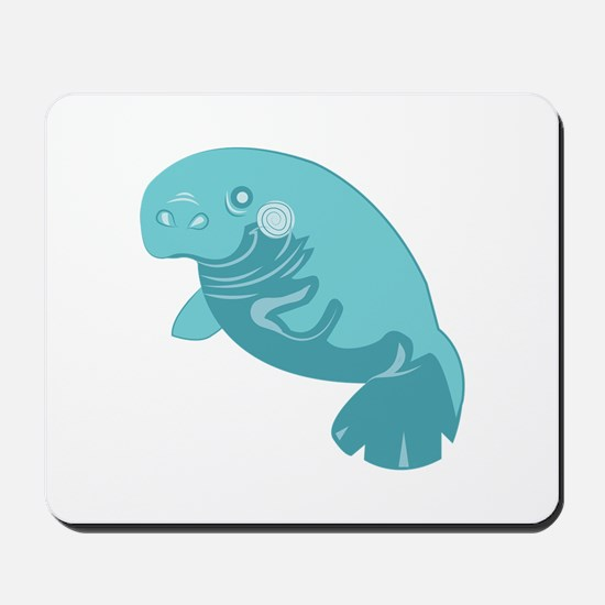 Manatee Animal Mousepad