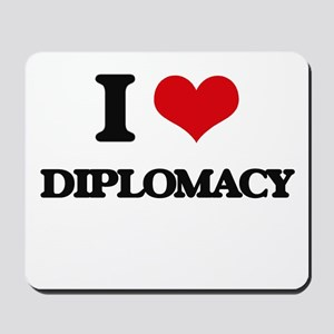 I Love Diplomacy Mousepad