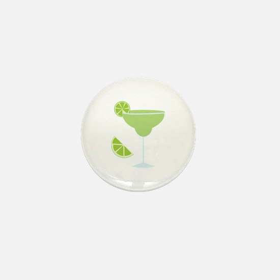 Lime Margarita Mini Button