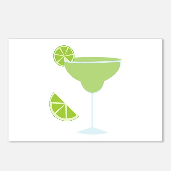 Lime Margarita Postcards (Package of 8)