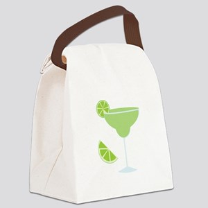 Lime Margarita Canvas Lunch Bag
