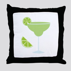 Lime Margarita Throw Pillow