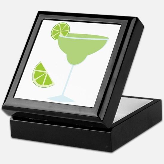 Lime Margarita Keepsake Box