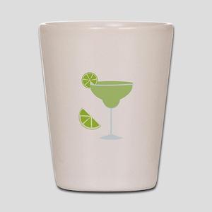 Lime Margarita Shot Glass