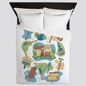 Home Improvement Queen Duvet