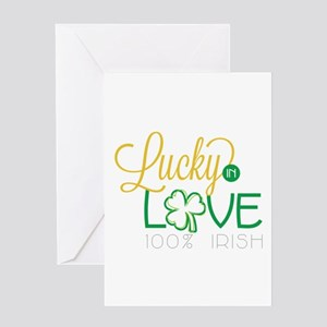 Lucky Irish Greeting Cards
