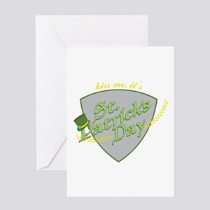 Kiss Me its St Patricks Greeting Cards