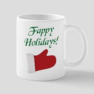 Fappy Holidays Christmas Mugs