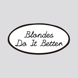 Blondes Do It Better Patches