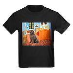 Room & Newfoundland Kids Dark T-Shirt