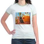 Room & Newfoundland Jr. Ringer T-Shirt