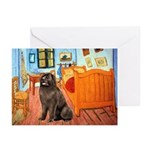 Room & Newfoundland Greeting Cards (Pk of 10)