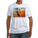 Room & Newfoundland Fitted T-Shirt
