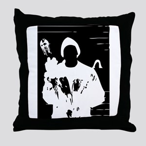 Crook by the Book Throw Pillow