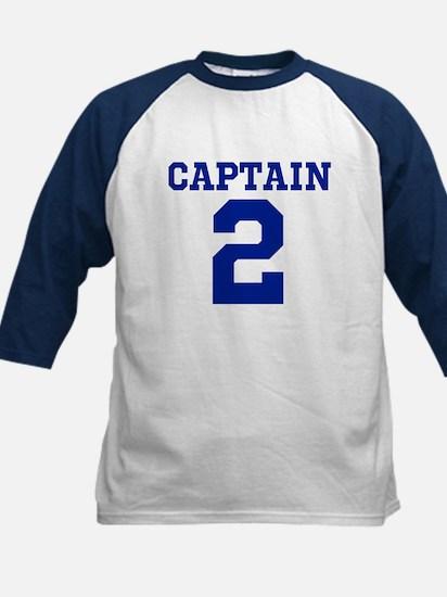 CAPTAIN #2 Kids Baseball Jersey