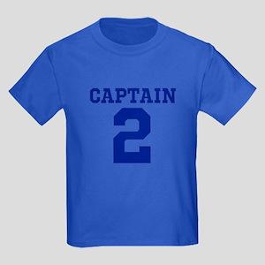 CAPTAIN #2 Kids Dark T-Shirt