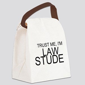 Trust Me, I'm A Law Student Canvas Lunch Bag