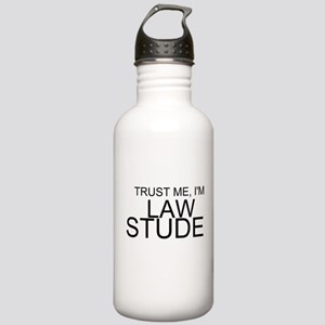 Trust Me, I'm A Law Student Water Bottle