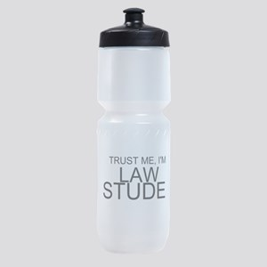 Trust Me, I'm A Law Student Sports Bottle