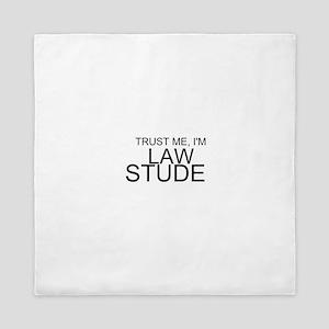 Trust Me, I'm A Law Student Queen Duvet