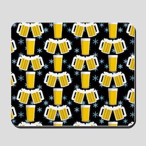 Winter Beers Mousepad