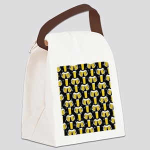 Winter Beers Canvas Lunch Bag