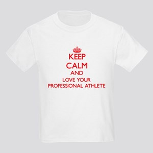Keep Calm and love your Professional Athle T-Shirt