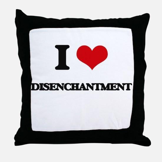 I Love Disenchantment Throw Pillow
