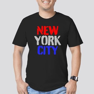 NEW YORK CITY Men's Fitted T-Shirt (dark)