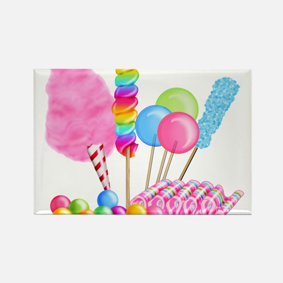 Cute Birthday party Rectangle Magnet