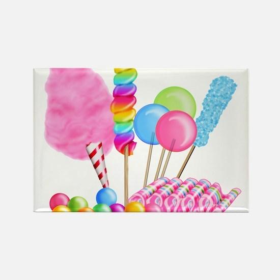 Cute Lollipop Rectangle Magnet