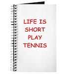 i love tennis Journal