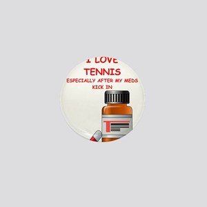 i love tennis Mini Button
