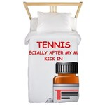 i love tennis Twin Duvet