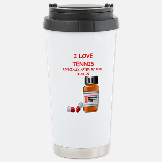 i love tennis Travel Mug