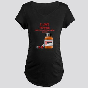 i love tennis Maternity T-Shirt