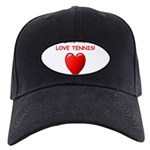 i love tennis Baseball Hat
