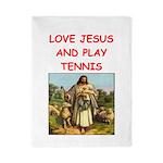 i love tennis Twin Duvet