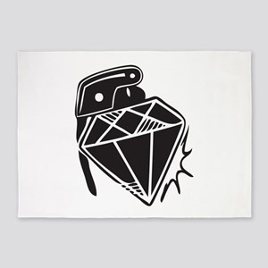 Diamond grenade 5'x7'Area Rug