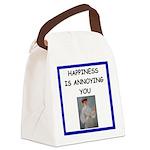 i love tennis Canvas Lunch Bag