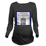 i love tennis Long Sleeve Maternity T-Shirt