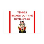 i love tennis Wall Decal