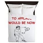 i love tennis Queen Duvet