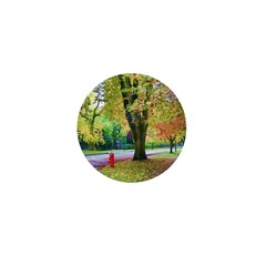 Autumn in Vancouver Mini Button (10 pack)