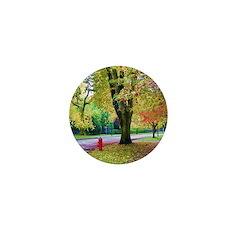 Autumn in Vancouver Mini Button