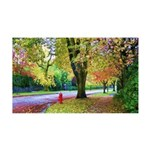 Autumn in Vancouver 35x21 Wall Decal